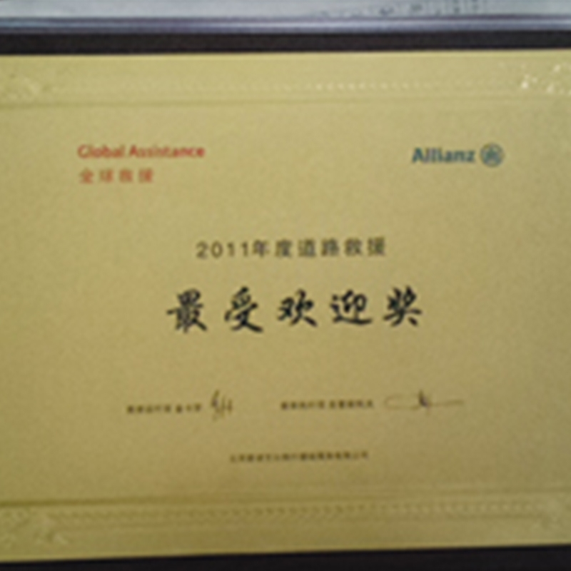 欢迎奖(2011)
