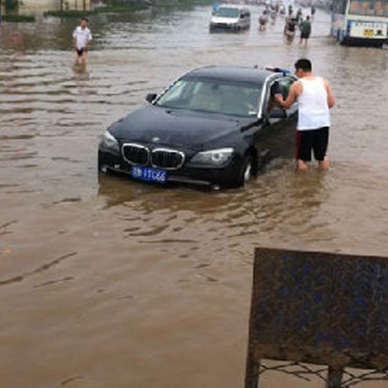 水灾车辆困境救援
