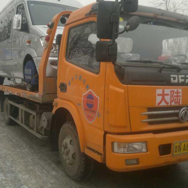 雪天车辆困境救援