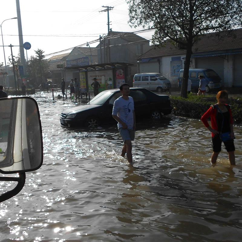 涉水道路汽车救援